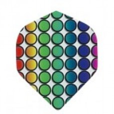 Coloured Dots Metro Flight